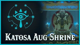 Zelda Breath of the Wild • Katosa Aug Shrine • Akkala