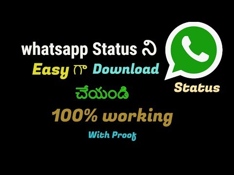 Status criativos - how to Download whatsapp status free easy 100% working with proof