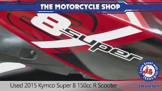 5. Used 2015 Kymco Super 8 150cc R Scooter