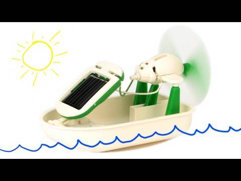 Kids Station 6 in 1 Educational Solar Robot Kits