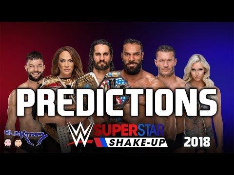 WWE Superstar Shakeup 2018 Predictions | ELEKTRIFY WRESTLING PODCAST