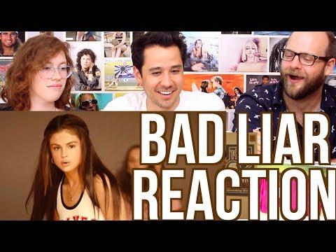 SELENA GOMEZ - Bad Liar - Music Video - REACTION