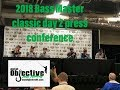 2018 Bassmaster Classic | Day 2 Press Conference