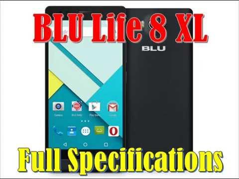 BLU Life 8 XL Specs