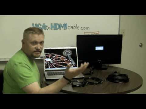comment installer un cable vga