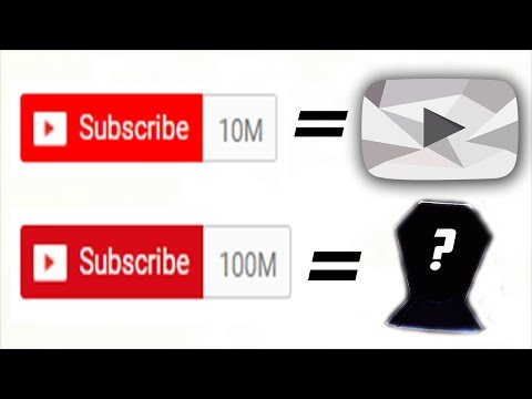 The New YouTube Award for 100 million Subscribers... what is it?