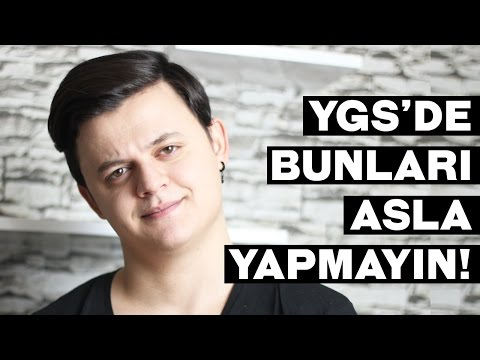 Video YGS'DE ASLA YAPILMAYACAK 5 ŞEY! download in MP3, 3GP, MP4, WEBM, AVI, FLV January 2017