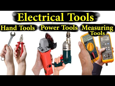 Electrical Tools Names And Pictures | Electrical Tools And Equipments in Urdu/Hindi |