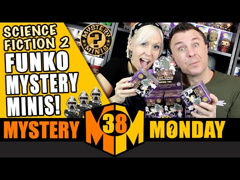 SCIENCE FICTION Funko Mystery Minis (Series 2) Part 1: Mystery Monday Ep. 38