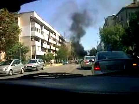 Взрив на автогазова уредба във Враца