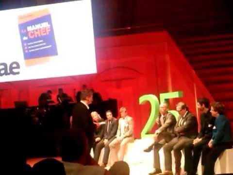 IAE/ESM Metz Hervé AULNER Le Manuel du Chef (soirée du 25 éme anniversaire)