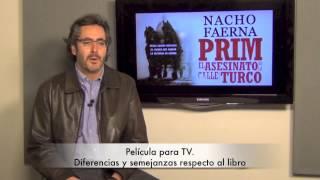 Nacho Faerna, autor de 'Prim. El asesinato de la calle del Turco'