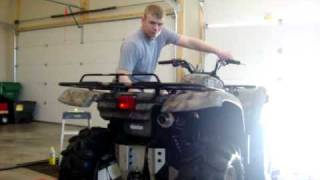 6. Yamaha Grizzly 660 with HMF Utility Exhaust