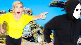 Chasing GAME MASTER in ABANDONED Sunken City! New Clues and Hidden Evidence Found in Real Life.