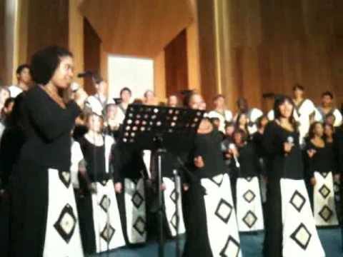 The South African Youth Choir – Oh Happy Day from Sister Act
