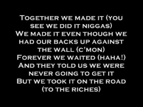 Busta Rhymes Feat. Linkin Park - We Made It (lyrics)