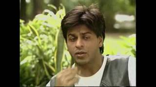 Shah Rukh Khan interview by Tavleen Singh on the sets of Duplicate (1998)