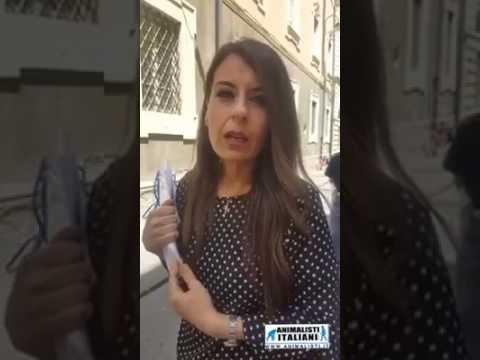 Arianna Lucisano parla a Animalisti italiani onlus