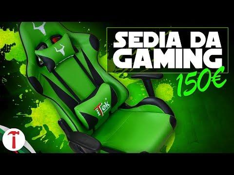 Una sedia da gaming da 150€ è davvero valida?