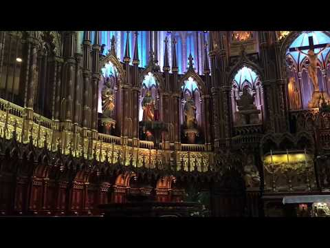 Church Of Notre Dame  Montreal Canada