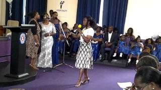 Area choir song ministration