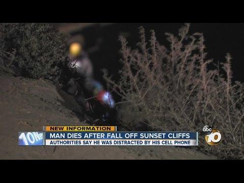 Man dies after fall off Sunset Cliffs