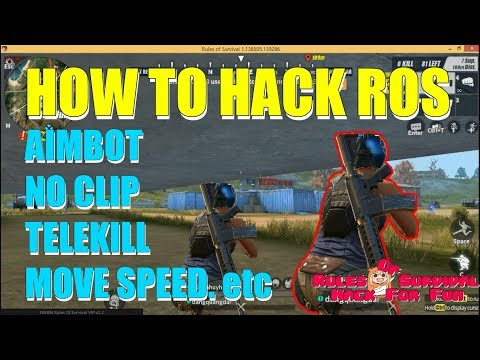 Hướng dẫn chi tiết HACK Rules Of Survival PC Update NEW ❤️ 03.03.2018 ❤️ MemoryHackers