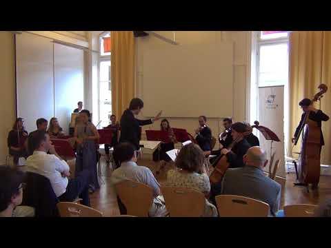 « Clôture du Deans�Forum »<br /> avec l�Orchestre de Chambre Quartier Latin<br /> Graciane Finzi, Concerto pour clarinette « De la terre à la vie »