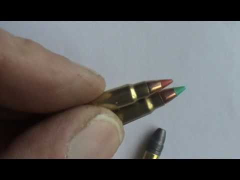 22lr & 17 HMR RIMFIRE RIFLE BULLET STRIP DOWN