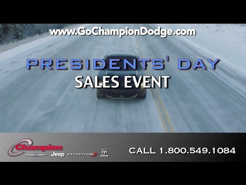 2017 DODGE & JEEP - PRESIDENTS DAY SALE - Los Angeles, Cerritos, Downey, CA - RAM & CHRYSLER - EVENT
