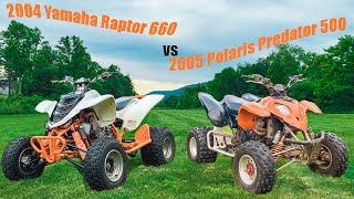 7. 2004 Yamaha Raptor 660 vs 2005 Polaris Predator 500