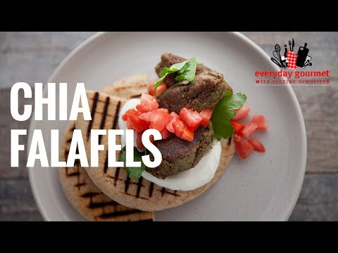 Blackmores Chia Falafels | Everyday Gourmet S6 E67