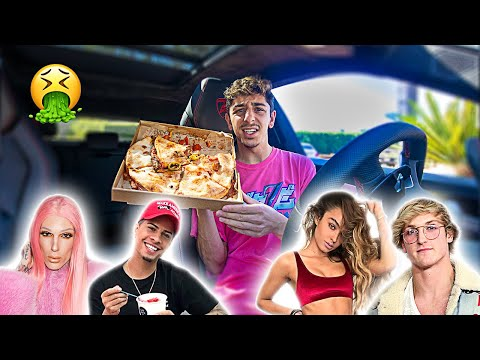 I Let YouTubers Decide What I Eat For 24 HOURS!! **bad idea**