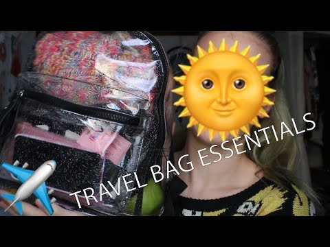 TRAVEL BAG ESSENTIALS | Cruelty Free | P4leandp1nkmakeup