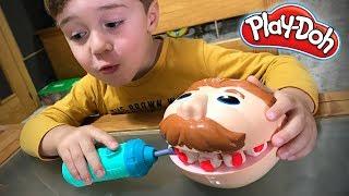 PLAY-DOH DENTISTA!! Massinha de Modelar Playdough de Brinquedo - Playset Toys for Kids