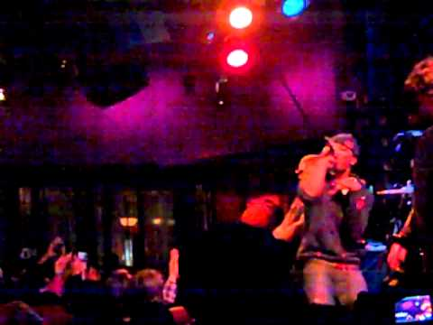 Chiddy Bang and Tinie Tempah (Hello, Good Morning freestyle) #DISTURBINGNYC 2-8-11 at SOBs