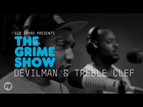 Video The Grime Show: Treble Clef & Devilman  - CameramanSketch, Cameraman, Sketch, Grime, Urban, Videos, Latest, UK, Hits, Pmoney, Skepta, Wiley, London to Nottingham, Nottingham, London