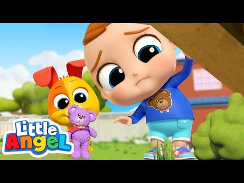 Where is My Teddy Bear? | Favorite Toy Song | Little Angel Kids Songs & Nursery Rhymes