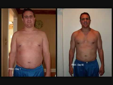 P90X Transformation Results – Week by Week