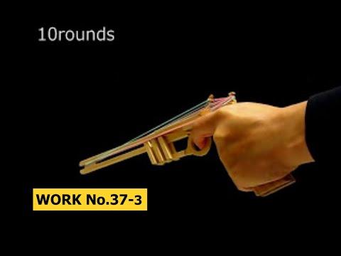 Semi Auto 20 rounds Rubber Band Hand Gun/ oggcraft.jp