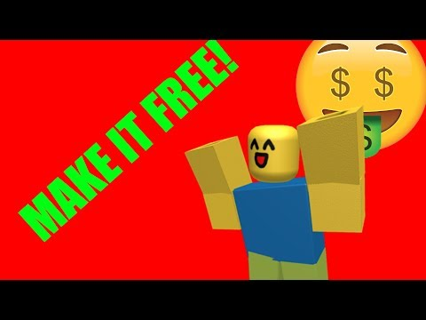 ROBLOX: Why Everything Isn't Free!