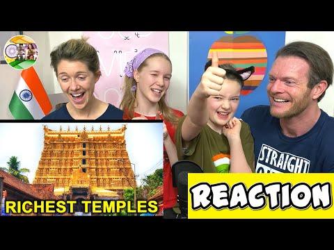 RICHEST TEMPLES IN INDIA REACTION | भारत के सबसे अमीर मंदिर | #BigAReact