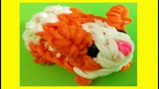 HOW TO MAKE GUINEA PIG 3D WITH 2 FORKS. WITHOUT RAINBOW LOOM. DIY. hamster - YouTube
