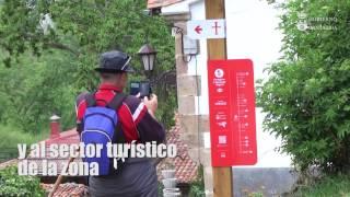 Visita a las obras de abastecimiento de Cicera (Peñarrubia)
