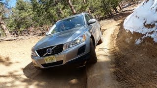 2013 Volvo XC60 T6 AWD Colorado Mountain Off-Road Drive&Review