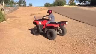 7. Vid #43: kid-friendly '16 Honda Rancher DCT AUTO