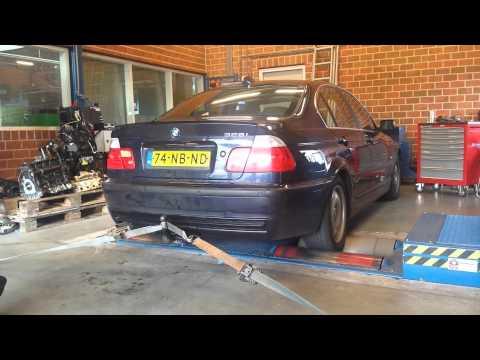 BMW e46 sedan 328i M52TUB28 dyno