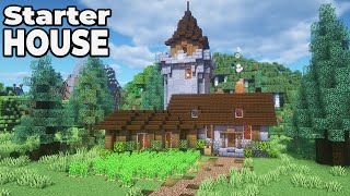 How to build an Awesome Stone Starter house in Minecraft 1.15