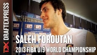 Saleh Foroutan - 2013 FIBA U19 World Championship - Interview