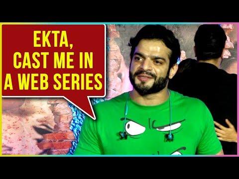 Karan Patel Wants Ekta Kapoor To Cast Him In A Web